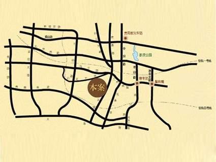 檀溪谷位置图