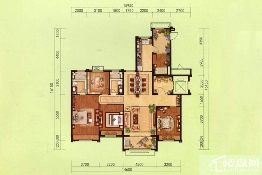 洋房Y150-D户型