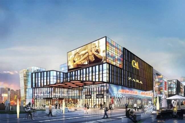 北美新天地N1艺术购物中心