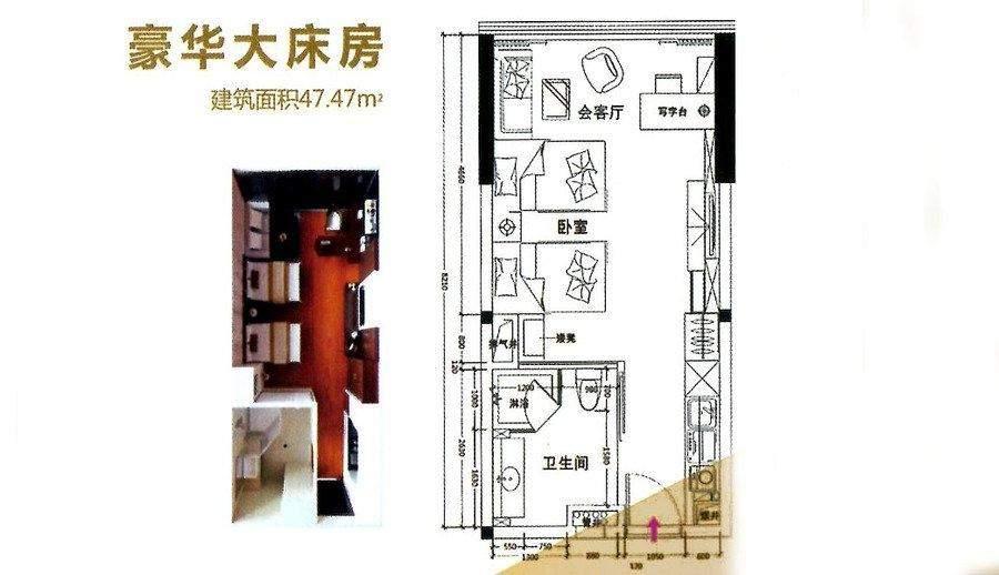 公寓47平户型