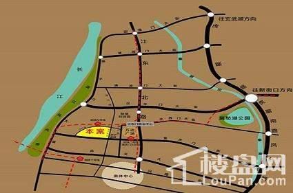 越洋国际商务中心位置图