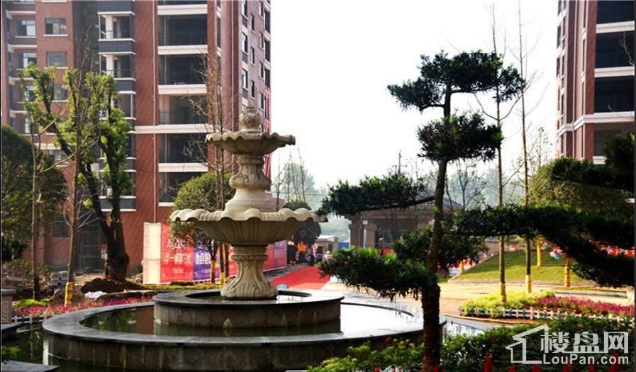 天润·杏林湾小区花园实景图