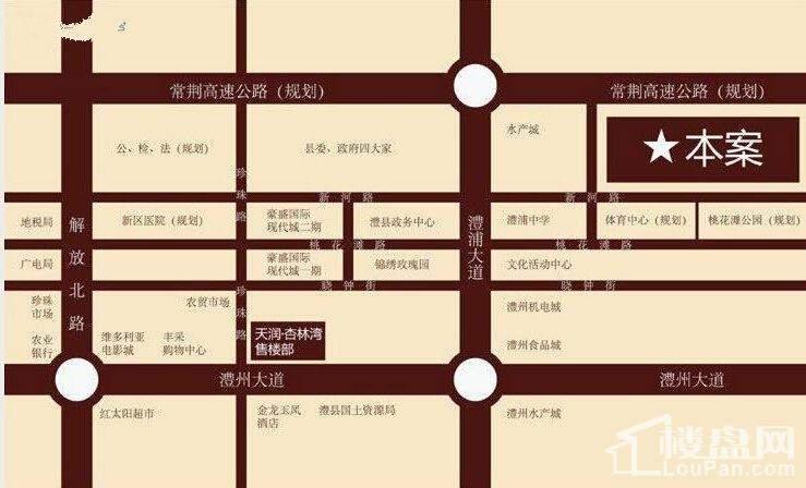 天润·杏林湾位置图