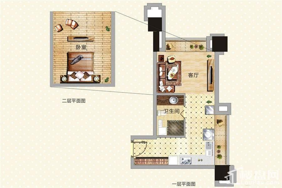 青年公寓12号LOFT户型