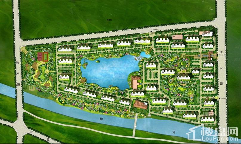 孔雀城湖韵澜湾位置图