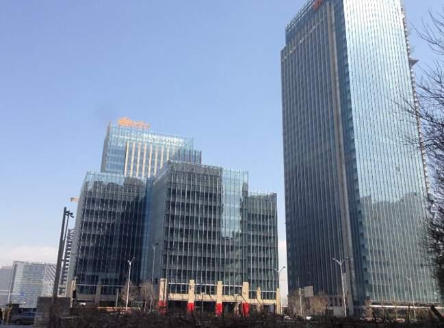 望京绿地中心一号楼实景图