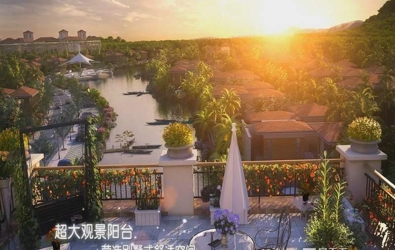 兴隆太阳谷温泉城效果图