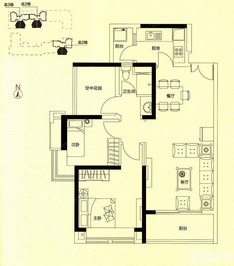 住宅A2户型