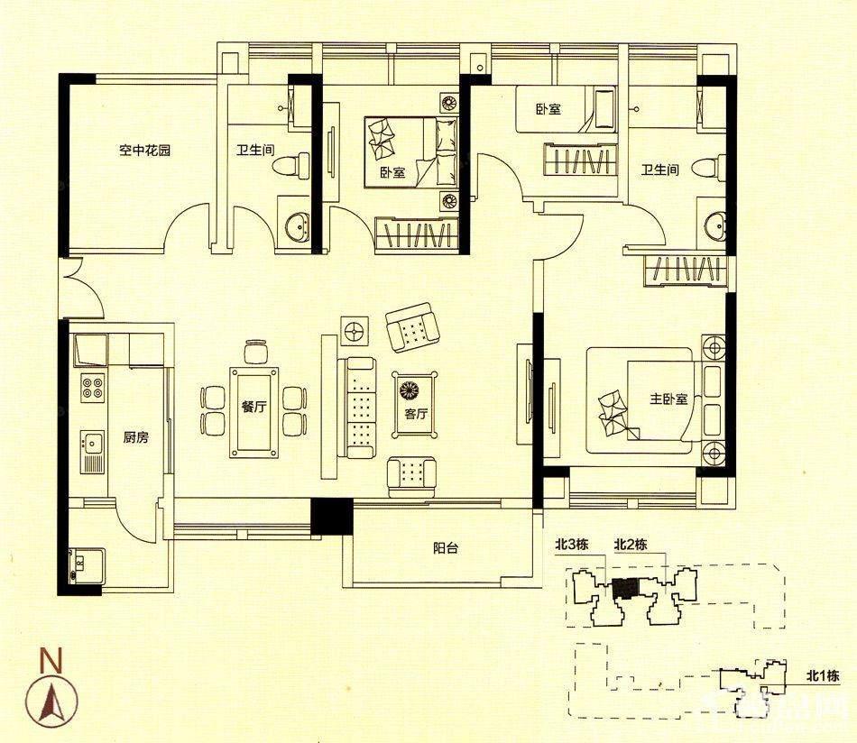 住宅C户型