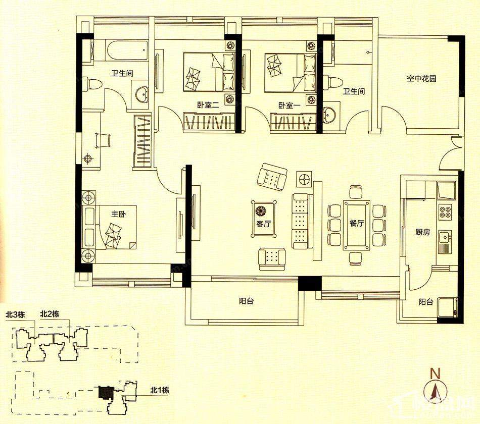 住宅D户型