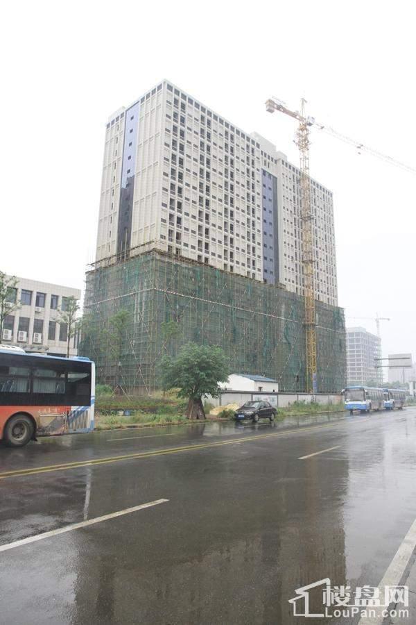 中南(长沙)总部基地实景图