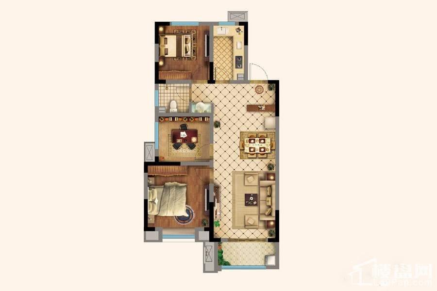 7#楼A1户型