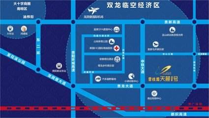 碧桂园中铁天麓1号位置图