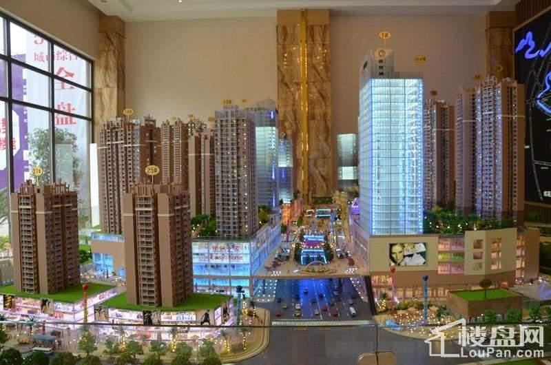 昆明路·世贸城实景图