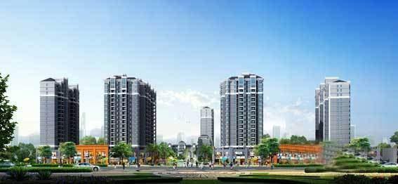 澧县汇景中央高清图