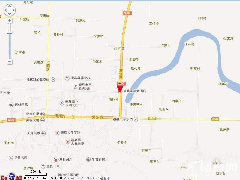 浦金国际广场 交通图