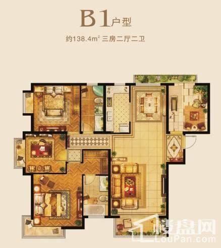 B1户型-