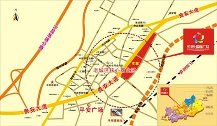 中润国际广场位置图