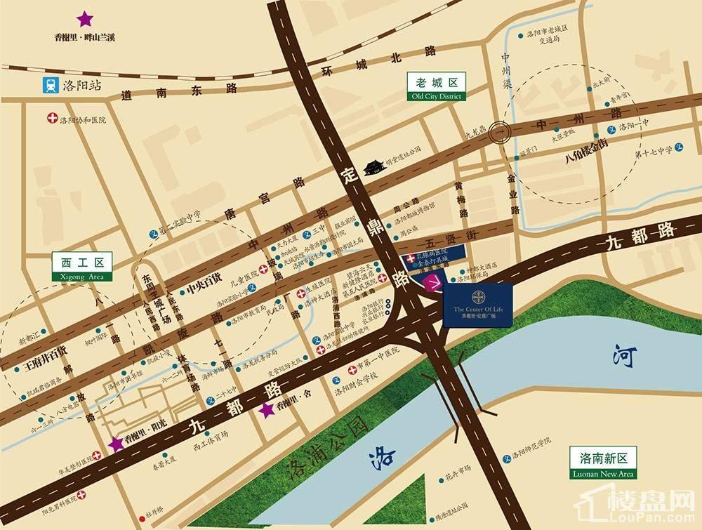 定鼎广场位置图