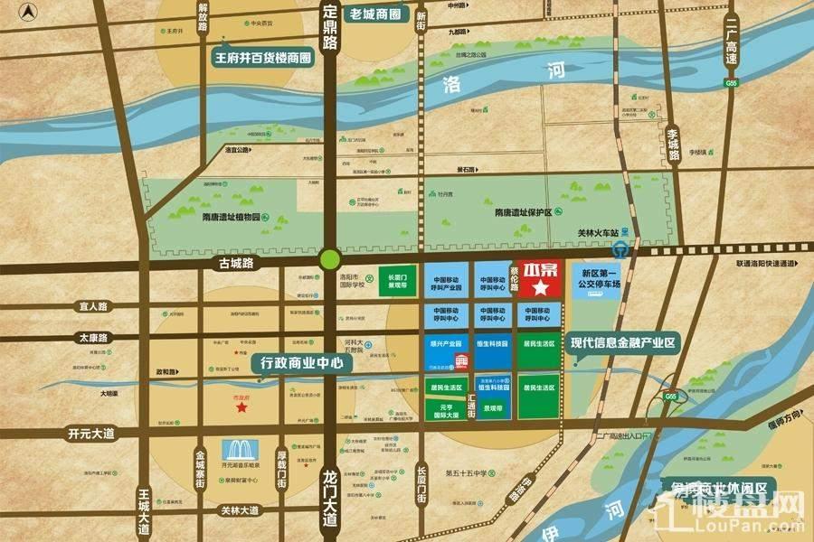 恒生·光合城位置图
