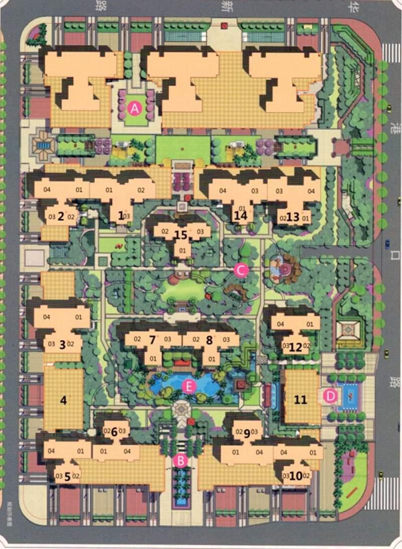 沿海馨庭位置图