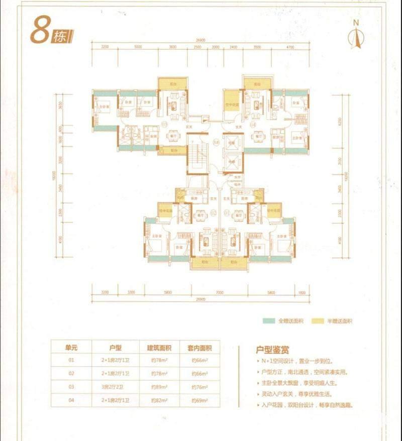 8栋户型图