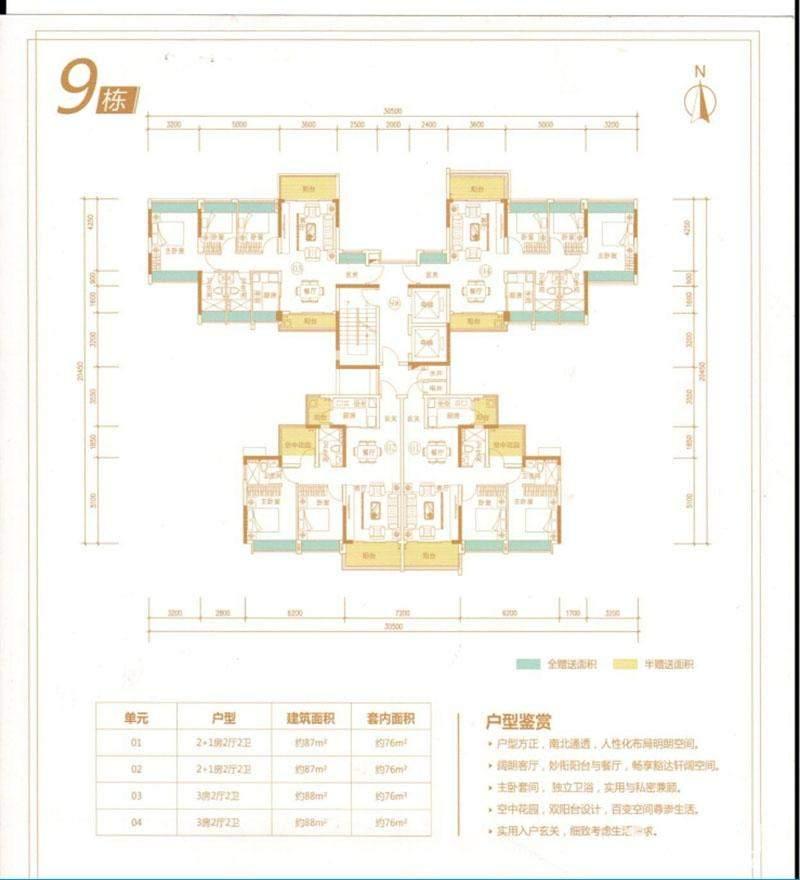 9栋户型图