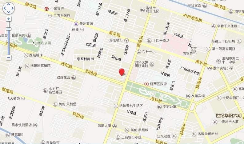 云峰国际位置图