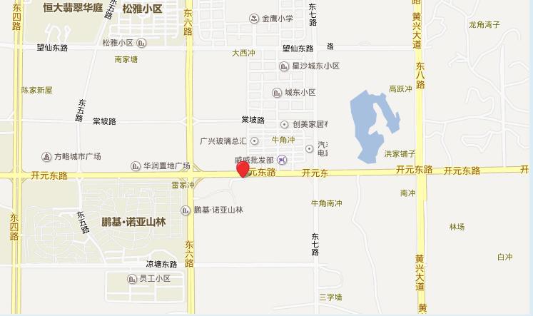 深业睿城位置图