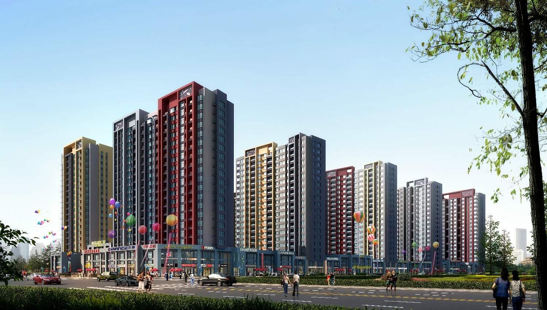 鑫泰·蓝湾国际效果图