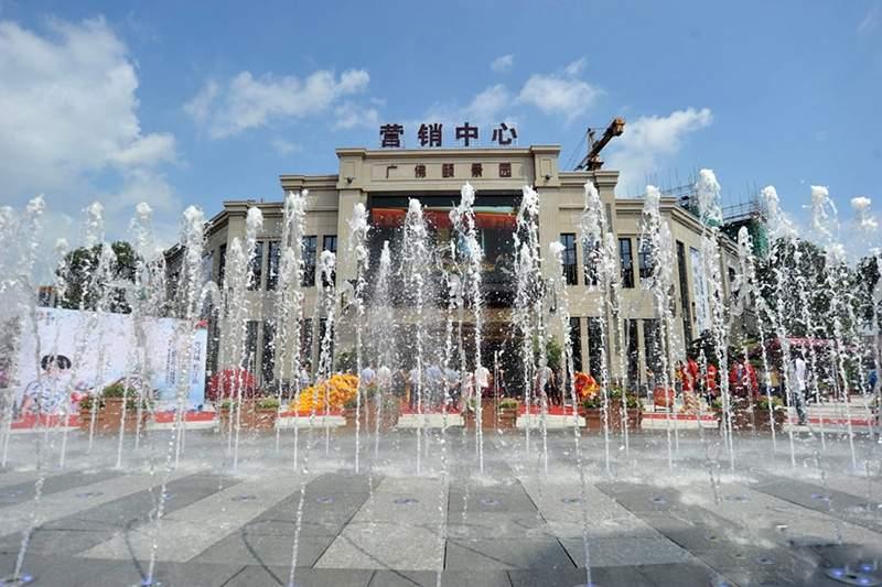 广佛颐景园实景图