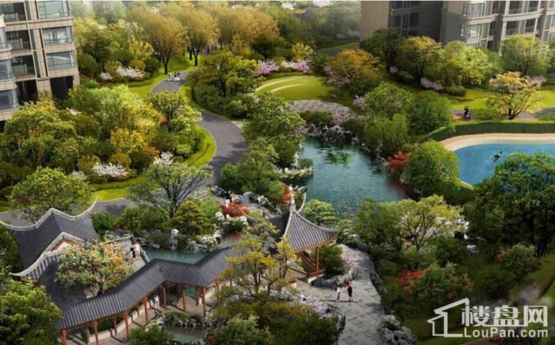 广佛颐景园效果图
