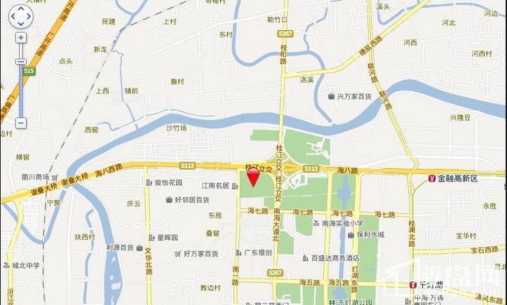 宏鼎·景裕豪园交通图