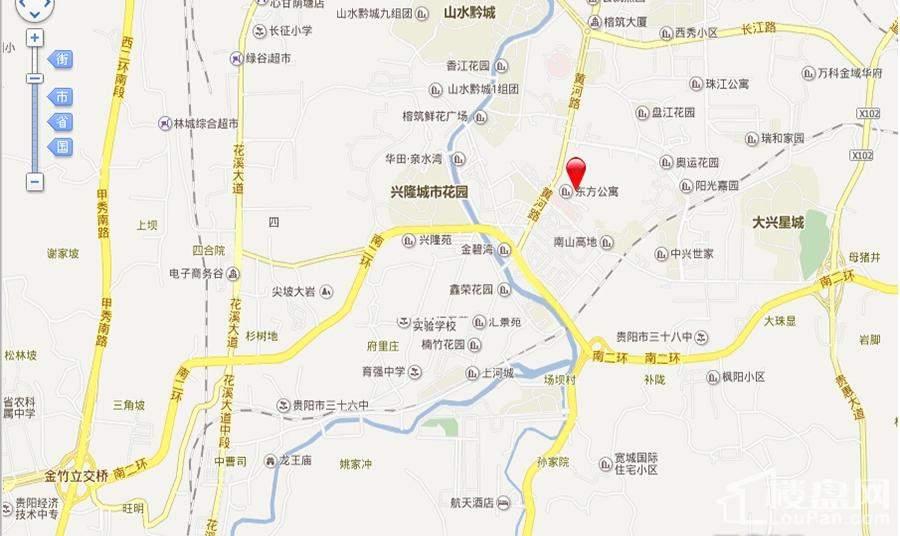 黄埔国际百度电子地图