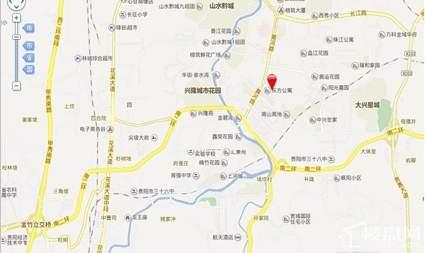 黄埔国际位置图