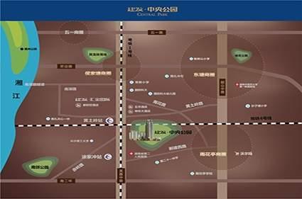 建发中央公园位置图