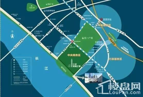 中建•宜昌之星位置图