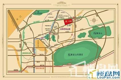 中铁青秀城位置图