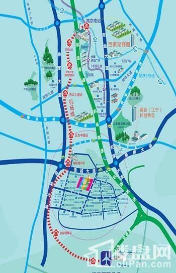 朗诗青春街区位置图