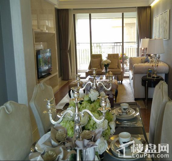 博雅滨江13座02单元108㎡-客厅、餐厅