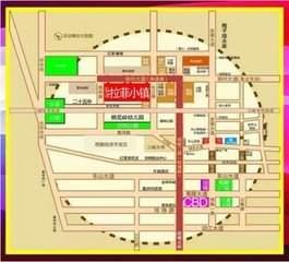 弘洋·拉菲小镇位置图