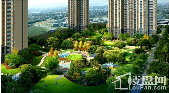 弘康·体育新城园林图2