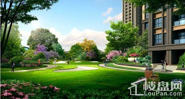 弘康·体育新城园林图4