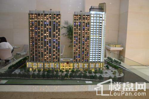 CBD数码城3D模型实景图