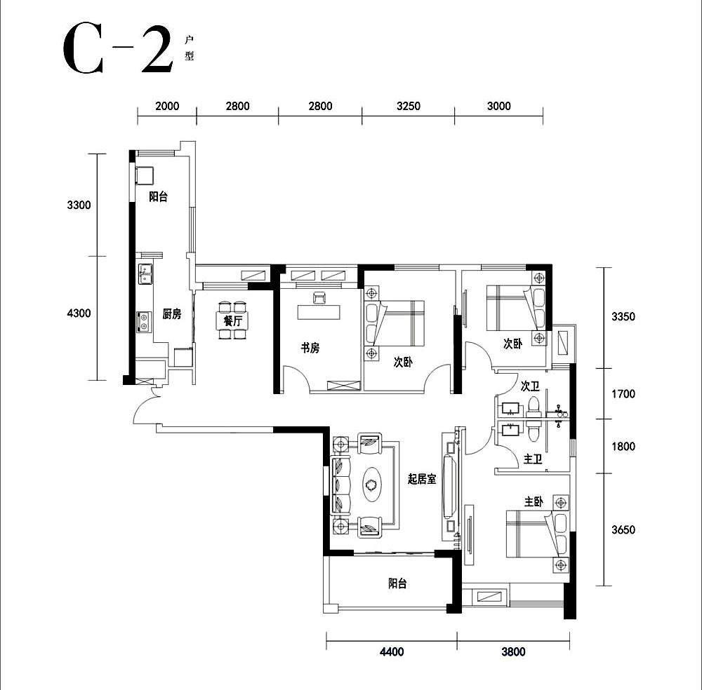 C2户型-