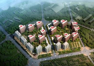 中国铁建·原香汇效果图