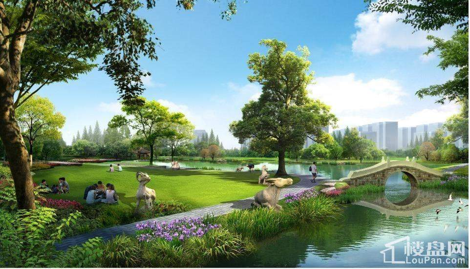 九华湖公园