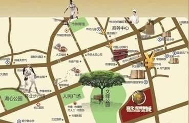 猇亭宜化绿洲新城位置图