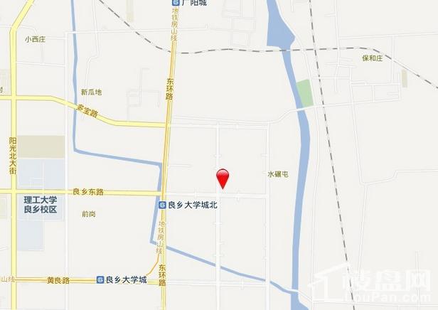 金地朗悦·YOYO派 位置图