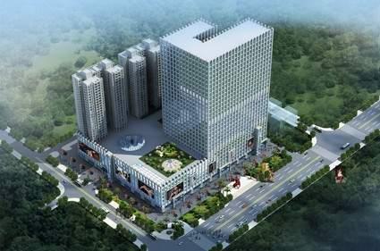 华南·城市广场效果图